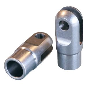 Slot Clevis weld-in tube 20x1,5
